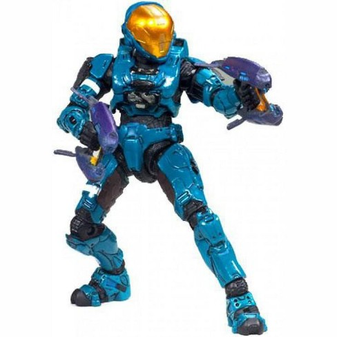 McFarlane Toys Halo 3 Series 6 Medal Edition Spartan Soldier EVA Action Figure [Teal] - image 1 of 2