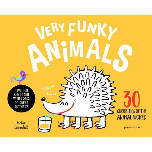 Very Funky Animals - by  Victor Escandell (Hardcover) - image 1 of 1