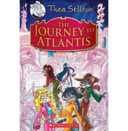 Journey to Atlantis (School And Library) (Thea Stilton) - image 1 of 1