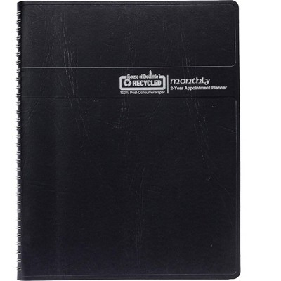 """House of Doolittle 2022-2023 8.5"""" x 11"""" Appointment Planner Black 262092-22"""