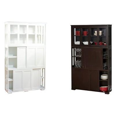 Pacific Stackable Sliding Glass Doors Cabinet Antique ...