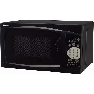 Magic Chef MCM770B 700 Watt 0.7 Cubic Feet Microwave with Digital Touch Controls, Black