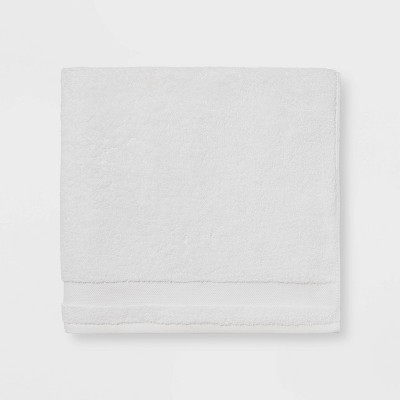 Solid Bath Sheet White - Made By Design™