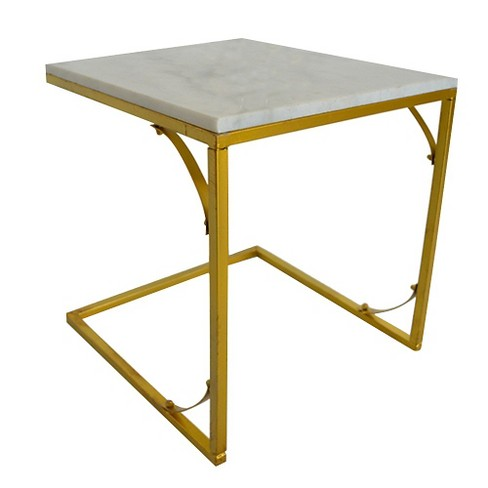 Accent Table Bright Gold - image 1 of 1