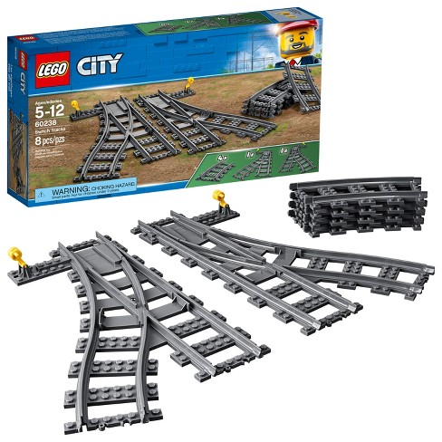Lego City Trains Switch Tracks 60238 Target