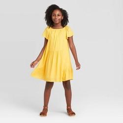 Girls' Short Sleeve Lurex Dress - art class™