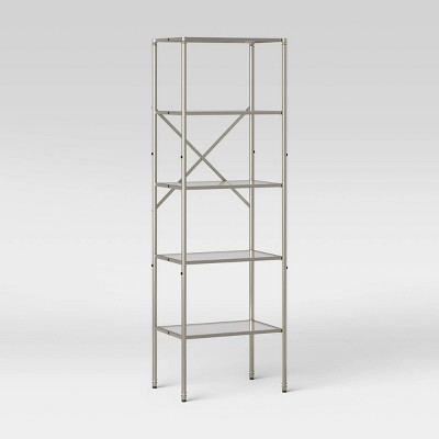 Metal/Glass Linen Tower - Threshold™