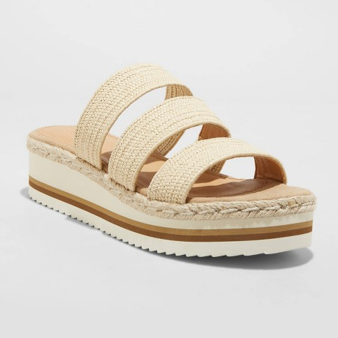 Women's Florence Sporty Platform Sandals - Universal Thread™ - image 1 of 4