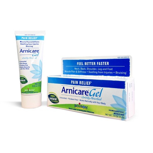 Boiron Homeopathic Arnicare Pain Relief Gel - 2 6oz