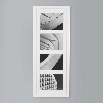 Thin Collage 4 Photo Frame White 5 x7  - Made By Design™