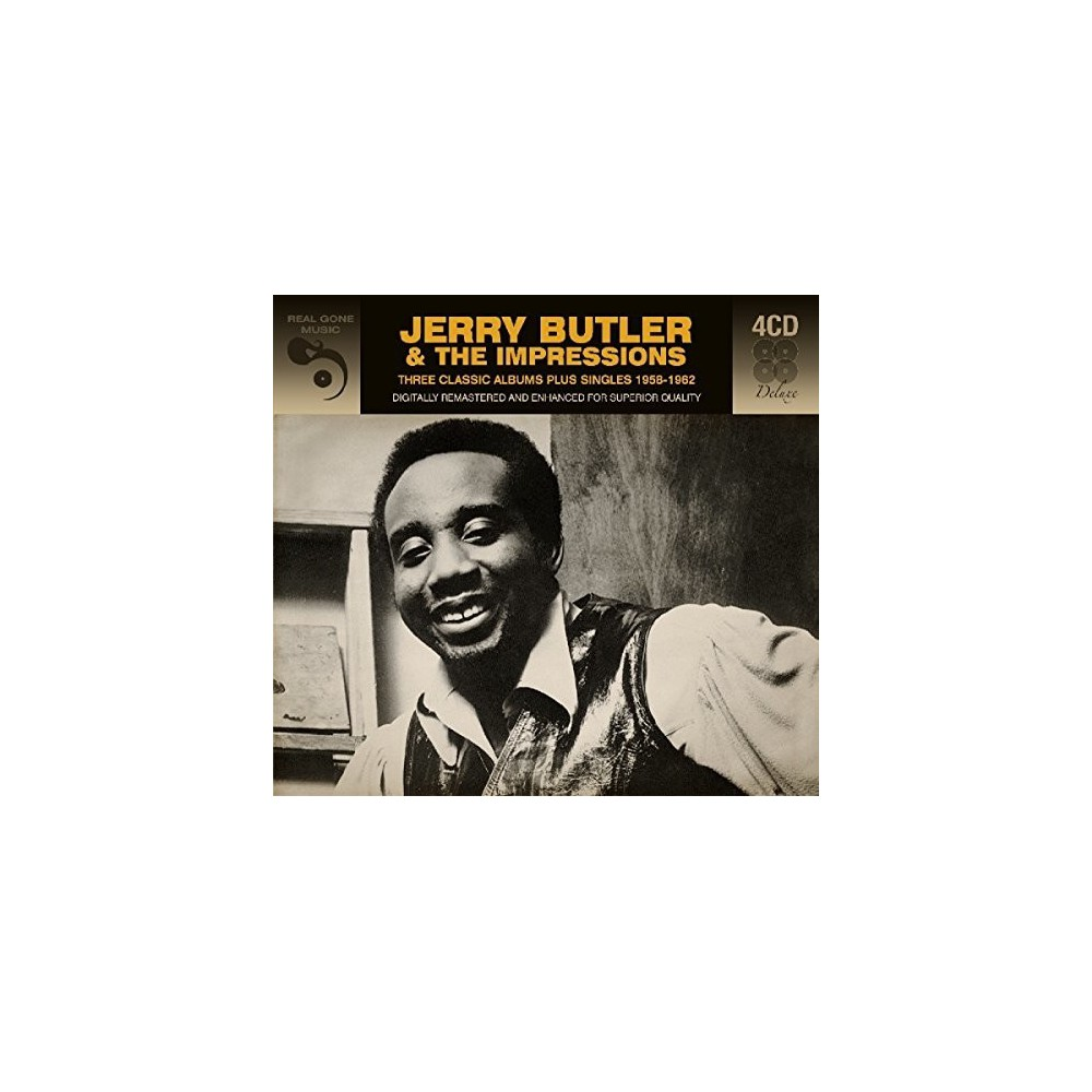 Jerry Butler - 3 Classic Albums Plus (CD)