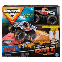 Monster Jam Zombie Monster Dirt Starter Set - Official 1:64 Scale Die-Cast Monster Jam Truck