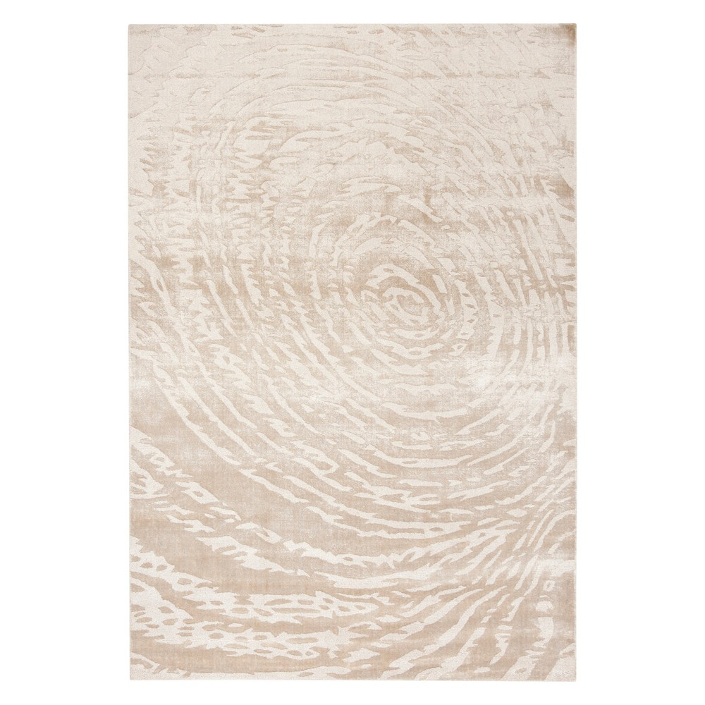 8'X10' Swirl Woven Area Rug Ivory - Safavieh, White