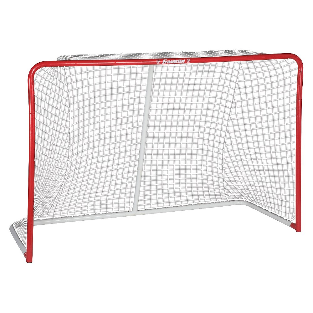Franklin Sports HX Pro Professional 72 Goal, Multi-Colored Get ready to score with the Franklin Sports HX Pro 72  Professional Goal. Transform any patch of pavement to a place to practice with a professional sized hockey net that is just the right size to work on your wicked slap shots. This street hockey goal is ideal for practice or for an epic pickup game. Goal features premium heavy gauge 1.75  (1.0mm wall) steel tubing and a heavyweight 10,000D polyester pre-fit net. The precision tube fittings provide rigid construction. Color: Multi-Colored. Age Group: Adult.