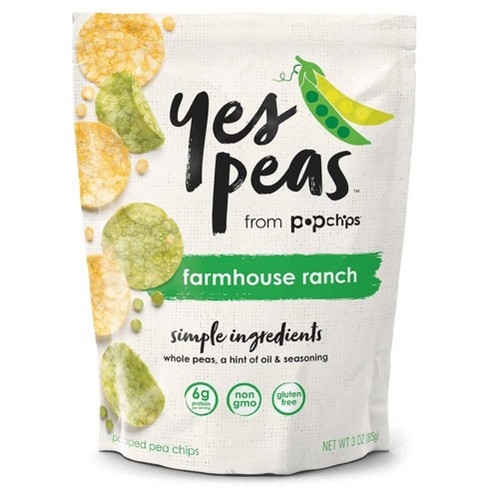 Yes Pea's Farmhouse Ranch Vegetable Chips - 3oz - image 1 of 4