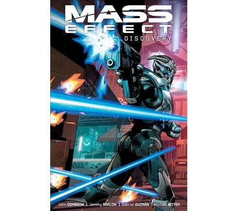 Mass Effect : Discovery -  by John Dombrow & Jeremy Barlow (Paperback) - image 1 of 1