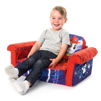 Marshmallow Furniture Childrens 2 in 1 Flip Open Foam Sofa Nickelodeon PAW Patrol by Spin Master