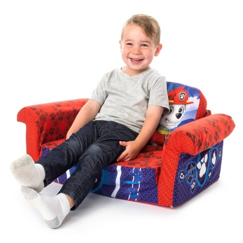 Stupendous Marshmallow Furniture Childrens 2 In 1 Flip Open Foam Sofa Nickelodeon Paw Patrol By Spin Master Ocoug Best Dining Table And Chair Ideas Images Ocougorg