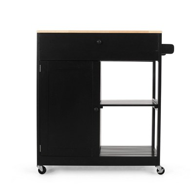 Telfair Kitchen Cart with Wheels - Christopher Knight Home
