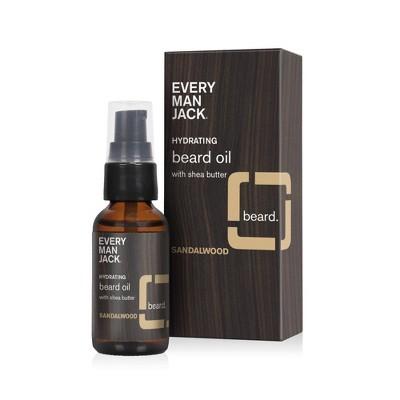 Every Man Jack Beard Oil Sandalwood - 1.0 fl oz