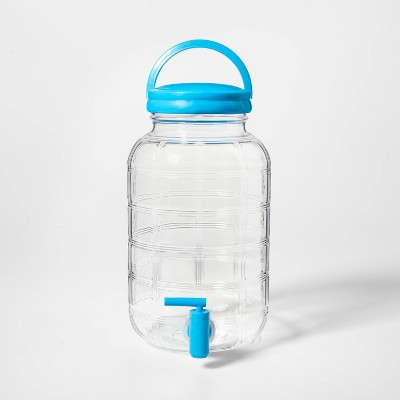 4.3L Plastic Embossed Beverage Server Blue - Sun Squad™