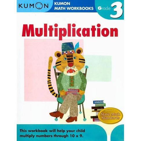 Multiplication Grade 3 - (Kumon Math Workbooks) (Paperback) - image 1 of 1