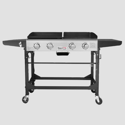 Royal Gourmet Premium 4-Burner 48000-BTU Folding Gas Grill Griddle GD401