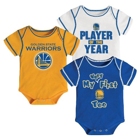 Golden State Warriors Infant Body Suits 18 M - image 1 of 1