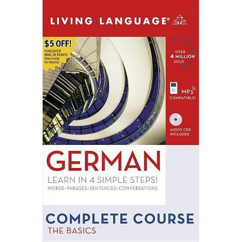 Complete German: The Basics (Book and CD Set) - (Living Language Complete Courses) (Mixed media product) - image 1 of 1