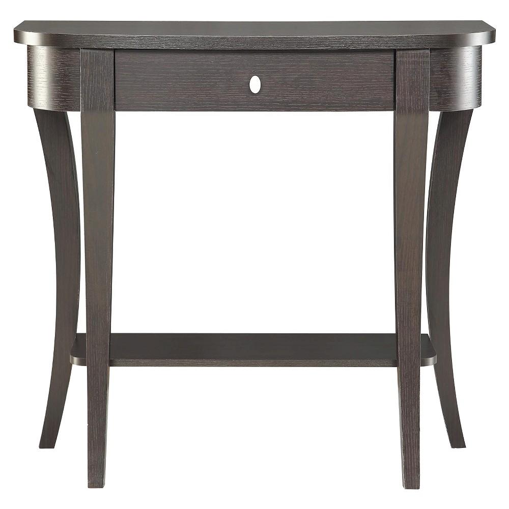 Convenience Concepts Newport Console Table - Espresso, Brown