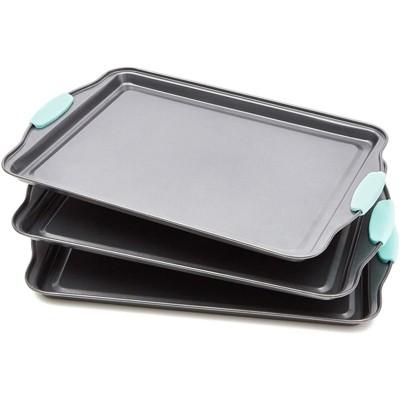 """Juvale 3 Pack Baking Pan Bakeware, Nonstick Cookie Sheet Baking Sheet 14.5""""x10"""""""
