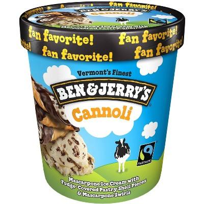 Ben & Jerry's Cannoli Ice Cream - 16oz