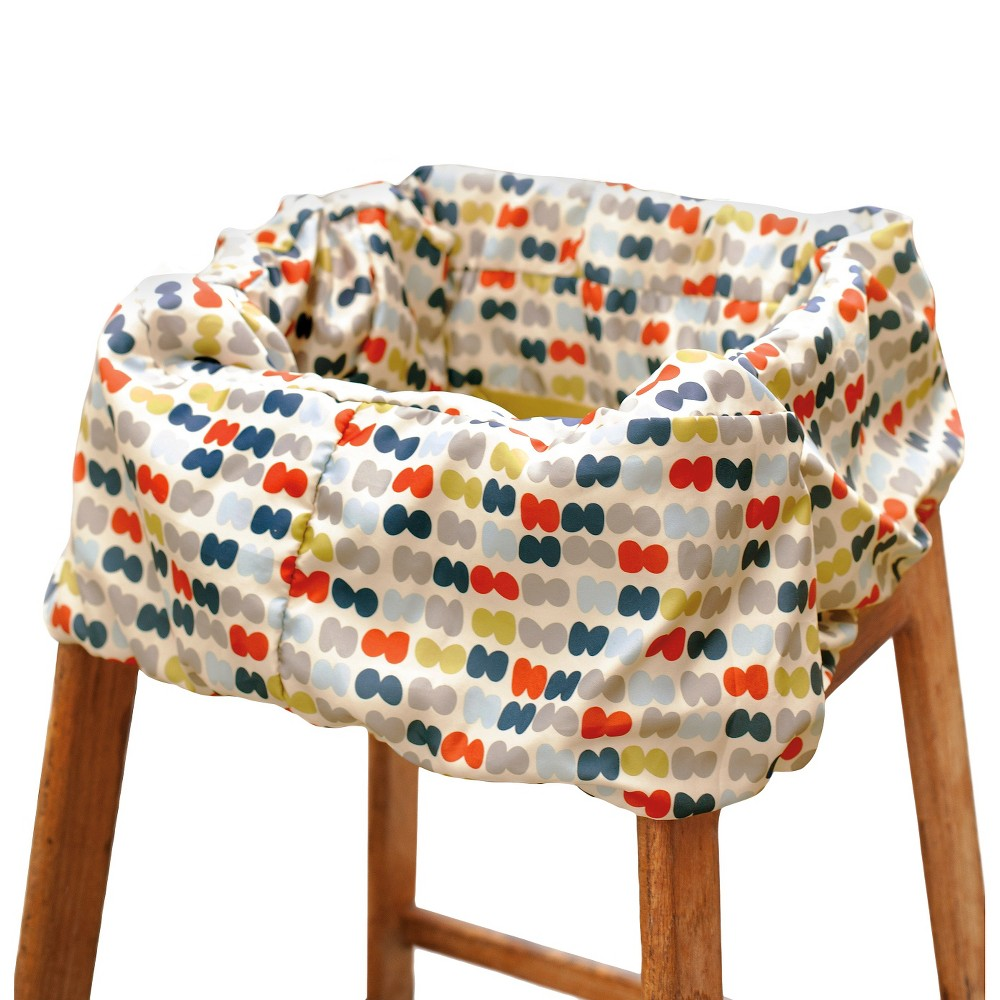 Skip Hop Grocery Cart Cover, Multi-Colored Bye-bye bulky cover!Our padded cover folds up small for on-the-go. Keep your little one from touching germ-covered shopping carts and restaurant-style high chairs with this machine-washable liner. Complete with padded seat and leg openings for extra comfort, a built-in pouch make it portable and keeps messes contained. Attach favorite hanging toys to the two front loops, keeping baby entertained while you shop or dine. Color: Multi-Colored.