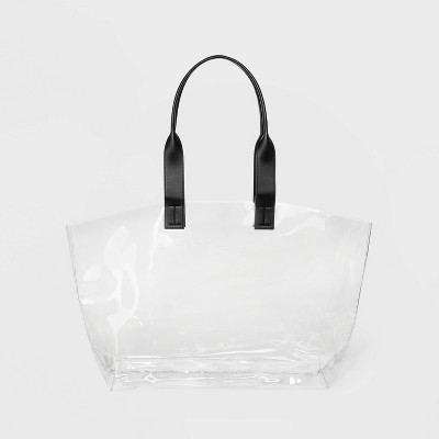 Clear Dome Tote Handbag - Shade & Shore™ Clear