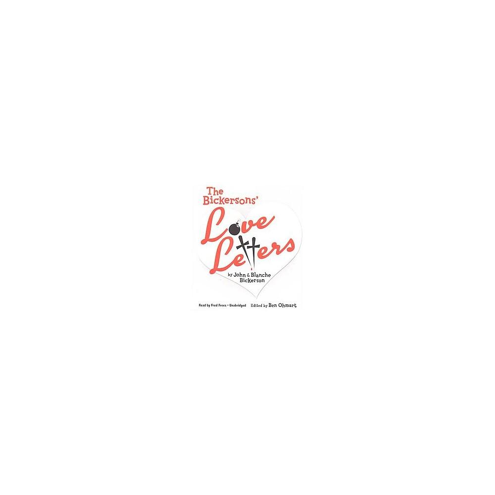 Bickersons' Love Letters (Unabridged) (CD/Spoken Word)