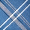 French Stripe Chambray Tablecloth - Design Imports - image 2 of 4