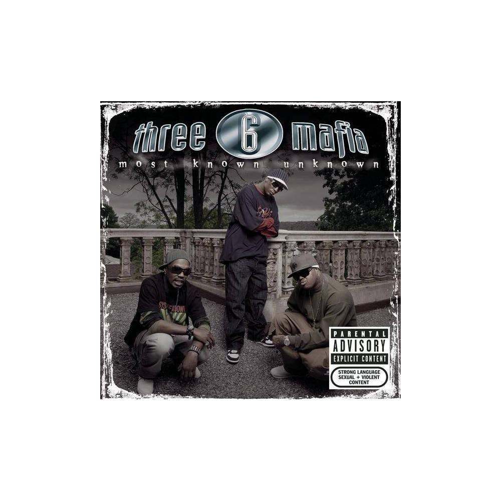 Three 6 Mafia Most Known Unknown Bonus Tracks Explicit Lyrics Cd