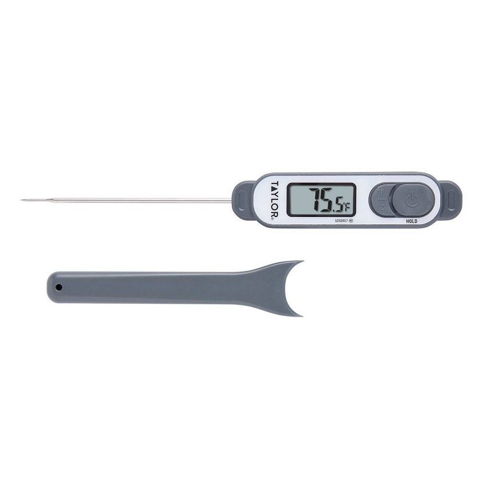 Image of Taylor Commercial Precision Digital Thermometer, Black