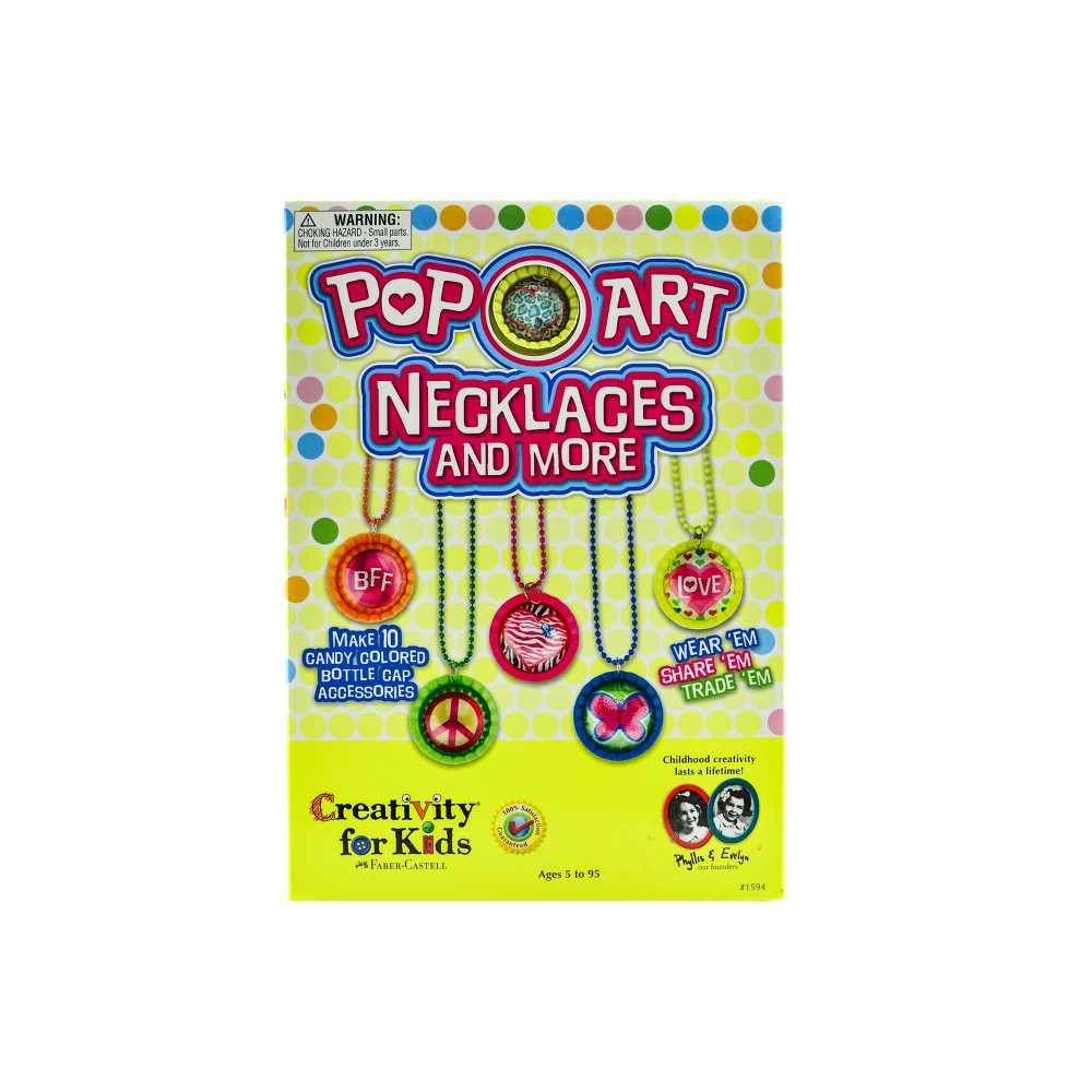 Pop-Art Necklaces Jewelry Kit - Creativity for Kids