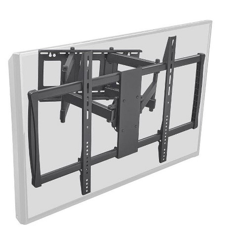 Monoprice Stable Series Full-Motion Articulating TV Wall Mount Bracket - Black | No Logo For TVs 60in to 100in, Max Weight 178lbs, VESA Up to 900x600 - image 1 of 4