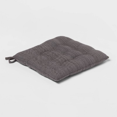 Solid Chair Pad Gray - Threshold™