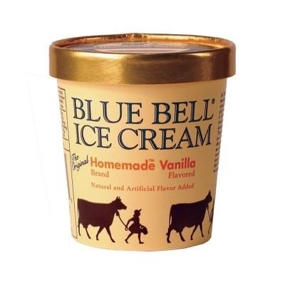 Blue Bell Homemade Vanilla Ice Cream - 16oz