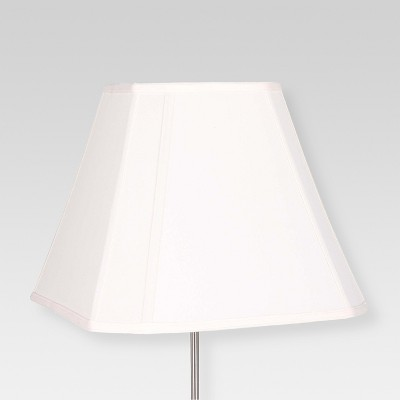 Large Cut Corner Lamp Shade Square White - Threshold™