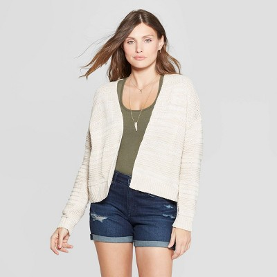 Women's Textured Open Layering Cardigan   Universal Thread™ by Universal Thread