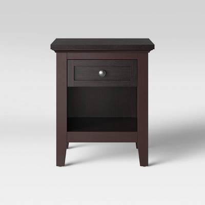 Carson End Table Espresso Brown - Threshold™