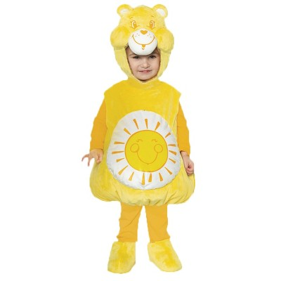 Toddler Care Bears Funshine Bear Halloween Costume
