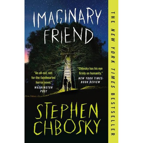 Imaginary Friend - Large Print by  Stephen Chbosky (Hardcover) - image 1 of 1