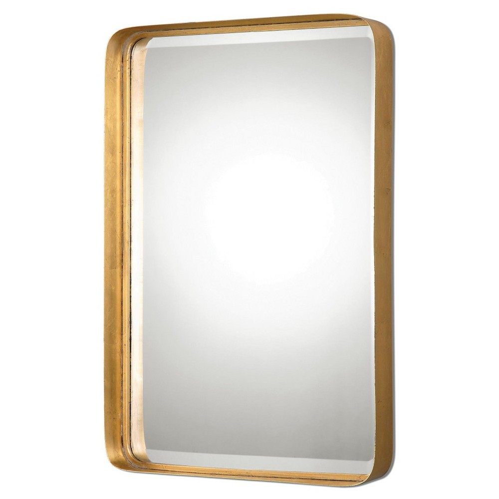 Rectangle Crofton Antique Decorative Wall Mirror Gold - Uttermost, Antique Gold
