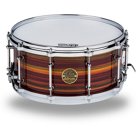 b8f7ee3ecb4c Ddrum Dios Maple Striped Lacquer Snare Drum 14 X 6.5 In. Natural Maple  Lacquer   Target