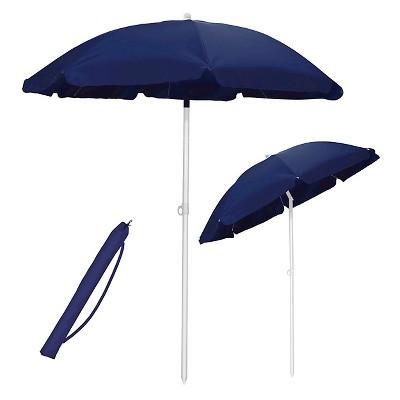 5.5' Portable Beach/Picnic Umbrella - Navy